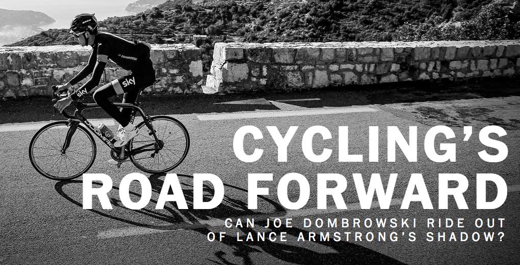 El reportaje Cycling's Road forward es otro gran ejemplo de cómo combinar diferentes elementos multimedia.