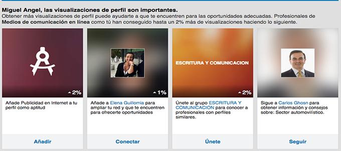 Linkedin ha mejorado últimamente la información que ofrece sobre la visibilidad de los perfiles.